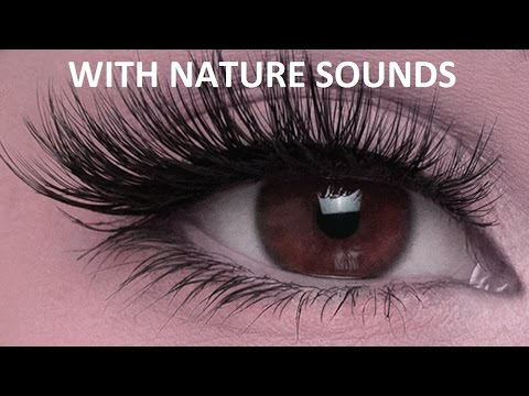 How to Grow Long Eyelashes Naturally (Nature) | Long Eyelashes Binaural Beats Subliminal Hypnosis