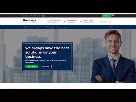 17 Best WordPress Business Themes Free to Build Business Website 2018