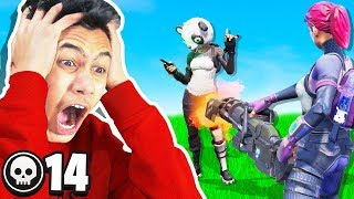 RAGING after every kill I get in Fortnite: Battle Royale
