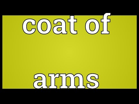 Coat of arms Meaning