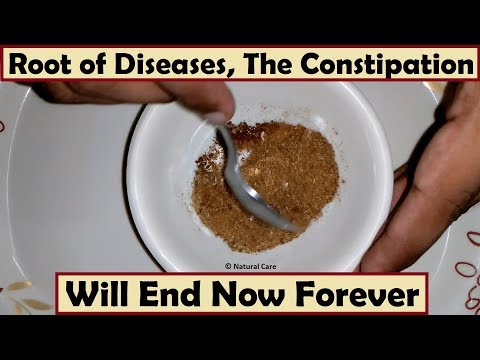 Root of All Diseases - The Constipation Will End Now Forever