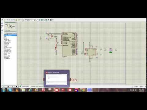 Bipolar stepper motor controlling circuit design with Proteus ISIS