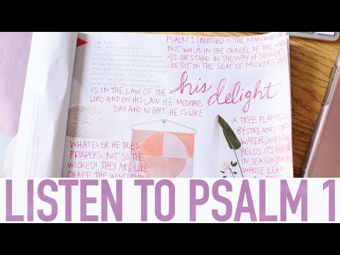 Listen to Psalm 1 | Scripture Writing