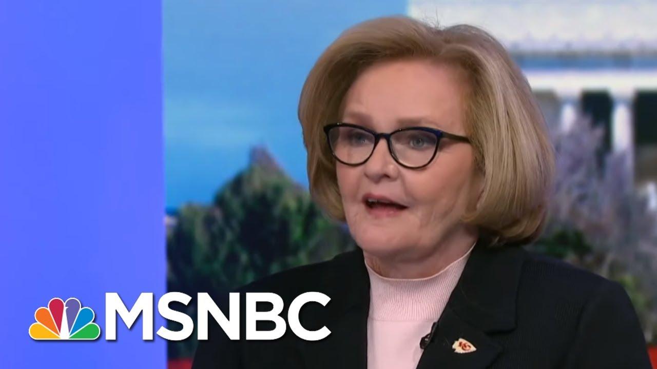 Claire McCaskill Explains The Importance Of The Senate Floor's 'Ghostwriter' | MSNBC