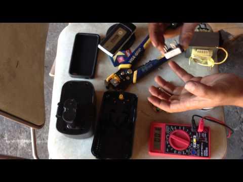 Repairing a Nickel Cadmium Battery Charger (Ni-Cad)
