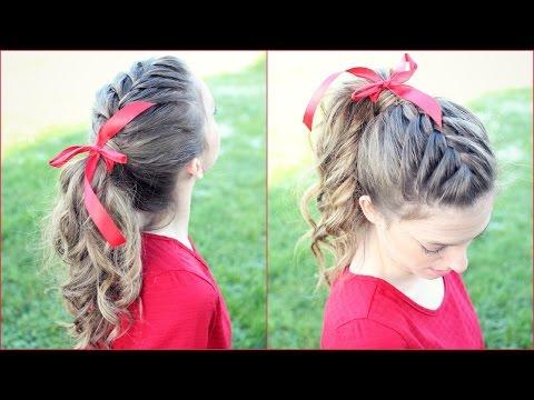 How to: French Braid  Ponytail Hair Tutorial | Braidsandstyles12