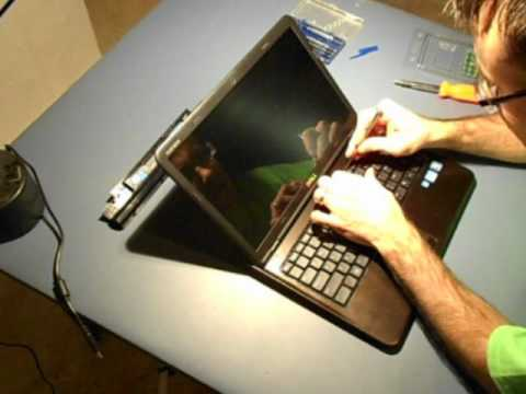 Laptop Keyboard Removal (Dell)