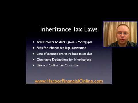 Federal Inheritance Tax Laws 2012, 2013