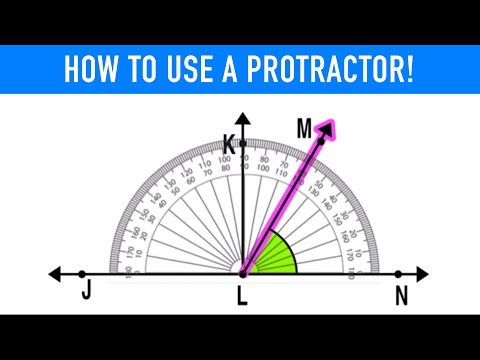 ✪ How Do I Measure An Angle Using a Protractor? | 4th Grade Math