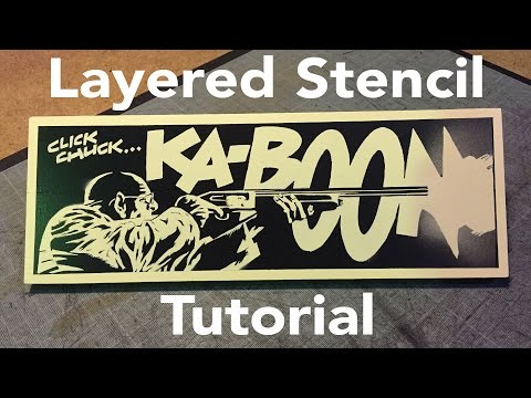 Layered Stencil Tutorial