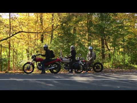 NYC to CT Fall Foliage Ride // Becky Stern