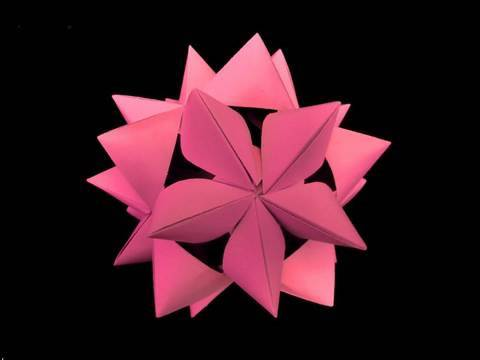 How to make an origami (inverted) Stella Conica