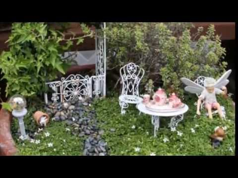 Compilation Miniature fairy garden decor