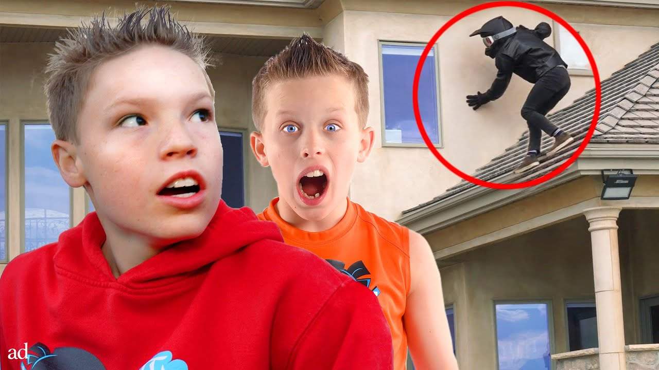 An Intruder Broke into our House!