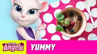 Talking Angela - Healthy Vegan Ice Cream (Yummy Recipe)