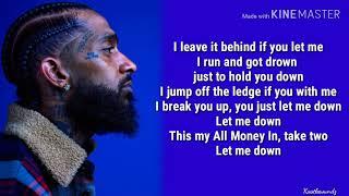 Nipsey Hussle - Double Up Ft. Belly & Dom Kennedy (Lyrics)