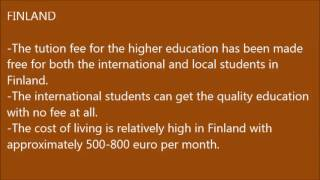 Top 10 affordable European Countries for INTERNATIONAL STUDENTS