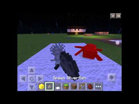Minecraft P.E. How to make  silverfish and spider trap