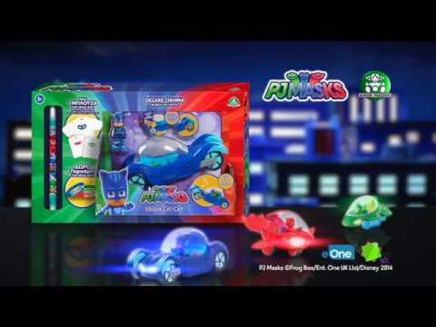 Λαμπάδα PJ Masks - Όχημα με ήχους & φώτα