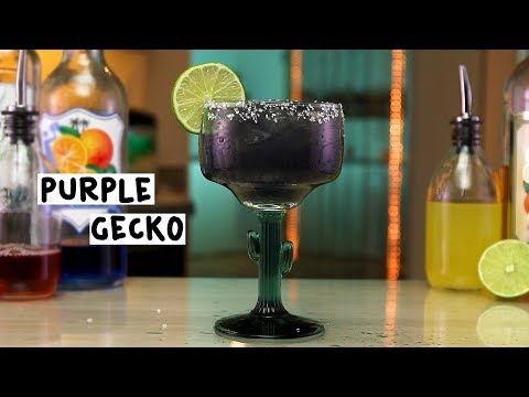Purple Gecko - Tipsy Bartender