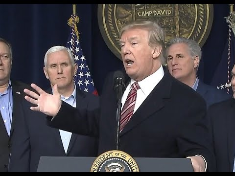 BREAKING: President Donald Trump gives URGENT Press Conference at Camp David
