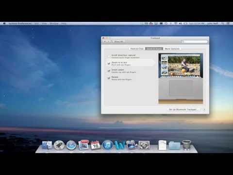 Change Scrolling Directions on a Mac