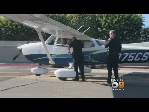 Student Pilot Miraculously Lands Small Plane On Busy Street