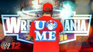 WWE 12 - Road To WrestleMania - Ep 1 - VILLAIN STORY BEGINS!!