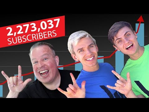 Zero to 2 Million Subscribers in a Year - Stephen & Carter Sharer