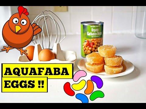 MAKING AQUAFABA EGGS!! - VEGAN TIP!