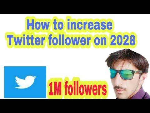 How to increase Twitter follower on 2018 Urdu/Hindi..