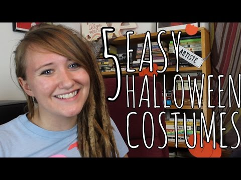 5 Quick Cheap and Easy Halloween Costumes