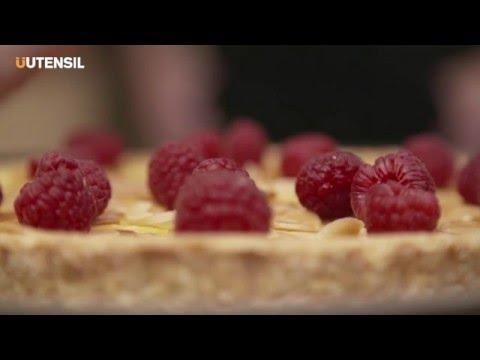 Great British Bake Off's Iain Watters' Cardamom and Raspberry Custard Tart