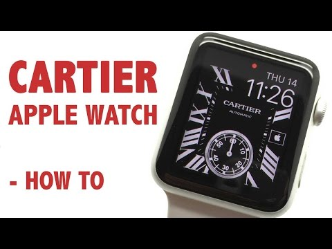 Cartier Apple Watch Custom Face - How to