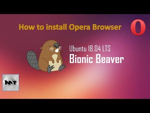 How to Install Opera Browser on Ubuntu 18.04