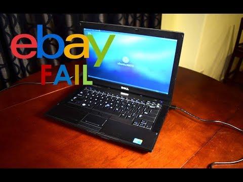 Falsely Advertised eBay $50 i5 Dell Latitude E6410 Unboxing Quick Test