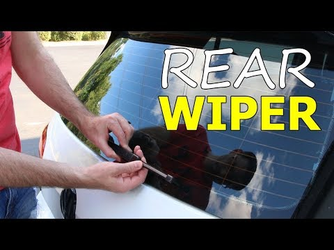 How to Install a Rear Wiper Blade on a MK7