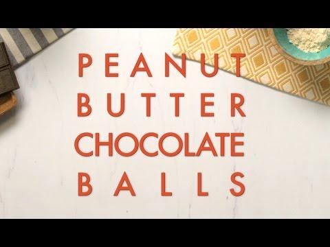 Peanut Butter Chocolate Balls Recipe - FIXATE™