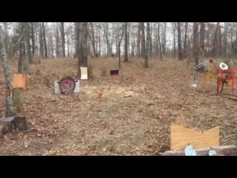 Tannerite vs Microwave blow it up with tannerite - pieces everywhere.