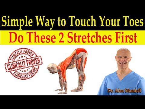 Simple Way to Touch Your Toes for Healthy Flexibility (Do These 2 Stretches First) - Dr Mandell, DC