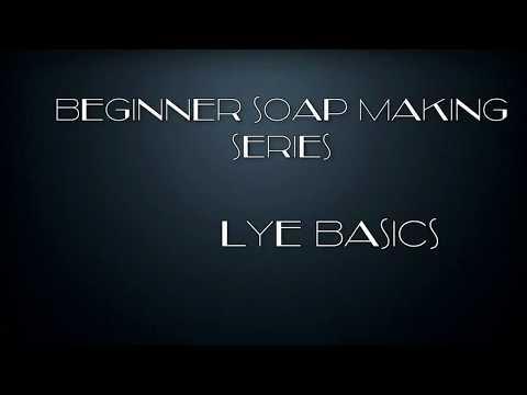 1.5) Beginner Soap Making Series - Lye Basics and Water Amounts