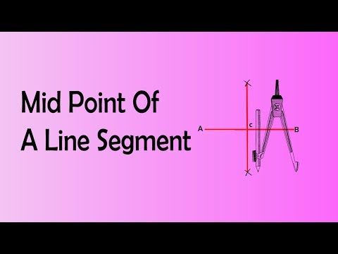 Find the Midpoint of a Line Segment