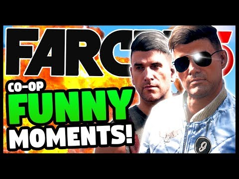 BOOM BROTHERS BREAK FAR CRY 5   Far Cry 5 Co-Op Funny Moments Gameplay