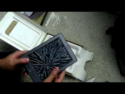 [HD] Kindle 4th Generation Unboxing
