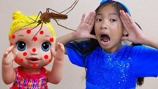 Miss Polly had a Dolly Song | Wendy Pretend Play Nursery Rhymes Kids Songs Toys and Colors