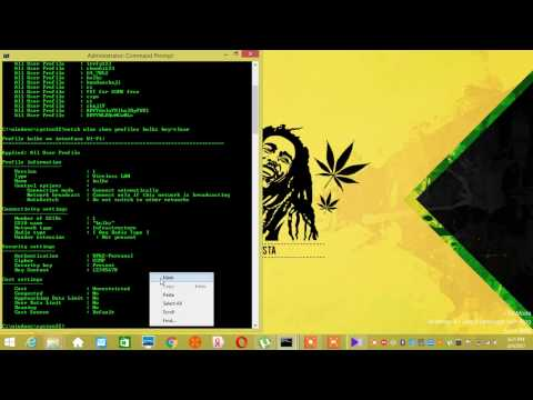 Hack any WiFi passwords using Command Prompt(cmd) in less than 1 Minute