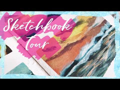 Casual Sketchbook Tour | May 2018