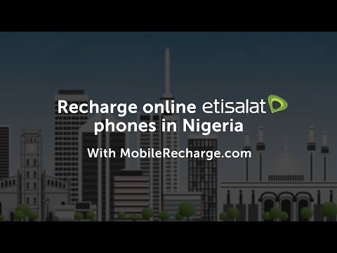 How to Recharge an Etisalat mobile in Nigeria