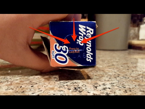 How to correctly use aluminum foil