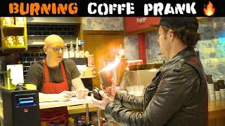 BURNING COFFE PRANK 🔥 - Julien Magic